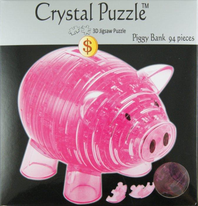 Иллюстрация 1 из 5 для Головоломка КОПИЛКА ХРЮША розовая (91103) | Лабиринт - игрушки. Источник: Лабиринт