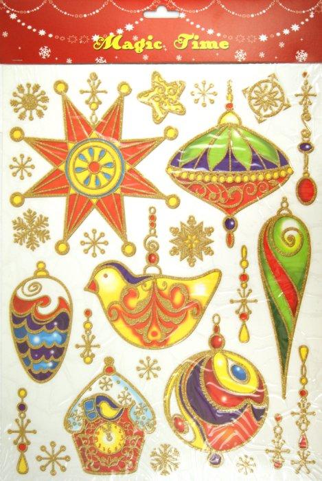 Иллюстрация 1 из 5 для Украшение новогоднее оконное (22250) | Лабиринт - сувениры. Источник: Лабиринт