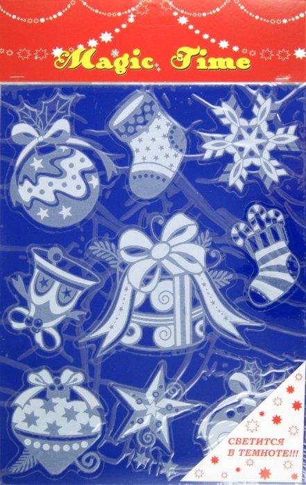 Иллюстрация 1 из 4 для Украшение новогоднее оконное (22266) | Лабиринт - сувениры. Источник: Лабиринт