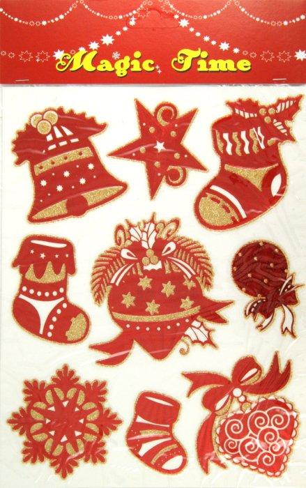 Иллюстрация 1 из 8 для Украшение новогоднее оконное (22273) | Лабиринт - сувениры. Источник: Лабиринт