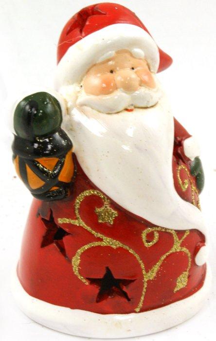 """Иллюстрация 1 из 3 для Украшение новогоднее """"Санта с фонарем"""" (22786)   Лабиринт - сувениры. Источник: Лабиринт"""