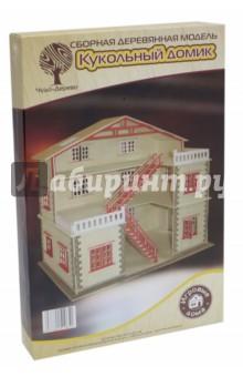 Купить Кукольный домик (PH023), ВГА, Сборные 3D модели из дерева неокрашенные макси