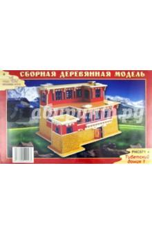 """Сборная модель """"Тибетский домик 1"""" (PHC071)"""