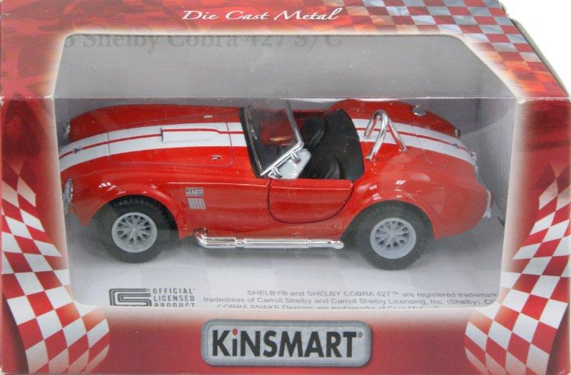 """Иллюстрация 1 из 2 для Машина """"Shelby 1965 Cobra"""" (КТ5322W)   Лабиринт - игрушки. Источник: Лабиринт"""