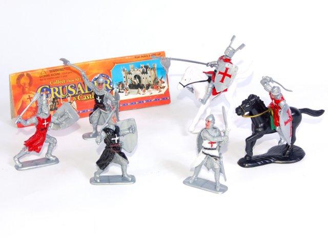 Иллюстрация 1 из 3 для Набор рыцарей в пакете (93592) | Лабиринт - игрушки. Источник: Лабиринт