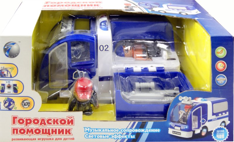 """Иллюстрация 1 из 12 для Машина """"Полиция"""" на батарейках (56599ADIY)   Лабиринт - игрушки. Источник: Лабиринт"""
