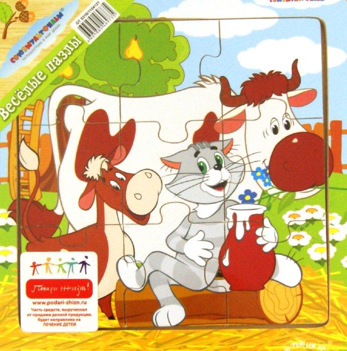 Иллюстрация 1 из 10 для Пазл Герои мультфильмов, 9 деталей (GT5316)   Лабиринт - игрушки. Источник: Лабиринт
