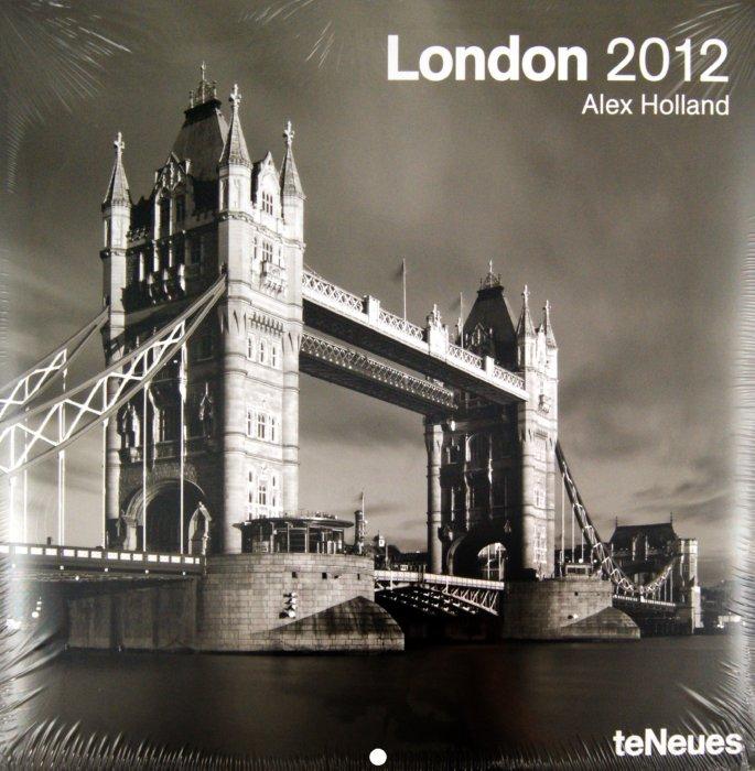 """Иллюстрация 1 из 2 для Календарь на 2012 год """"Лондон"""" (5011-4)   Лабиринт - сувениры. Источник: Лабиринт"""
