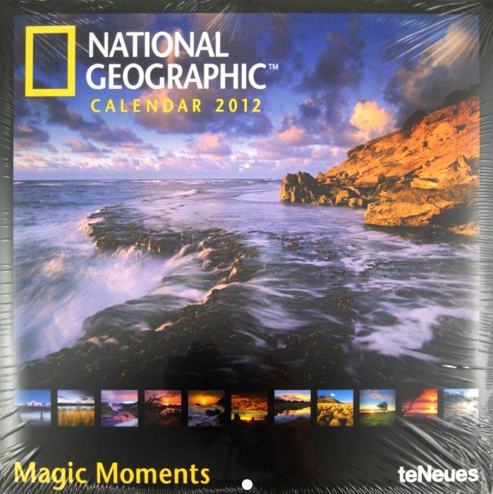 """Иллюстрация 1 из 2 для Календарь на 2012 год """"National Geographic. Волшебные моменты"""" (5228-6)   Лабиринт - сувениры. Источник: Лабиринт"""