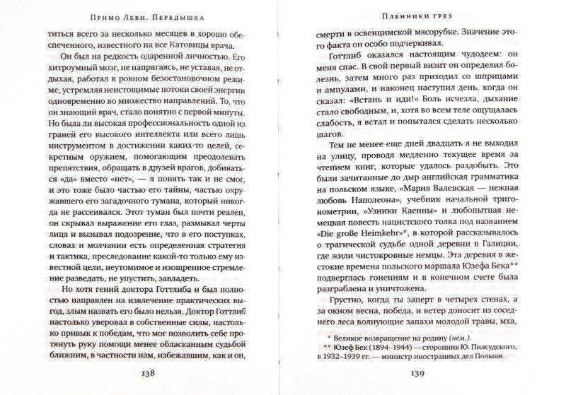 Иллюстрация 1 из 20 для Передышка - Примо Леви | Лабиринт - книги. Источник: Лабиринт