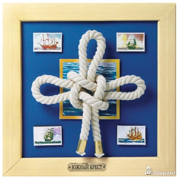 """Иллюстрация 1 из 5 для Набор для изготовления картины """"Южный крест"""" (АБ 41-011)   Лабиринт - игрушки. Источник: Лабиринт"""