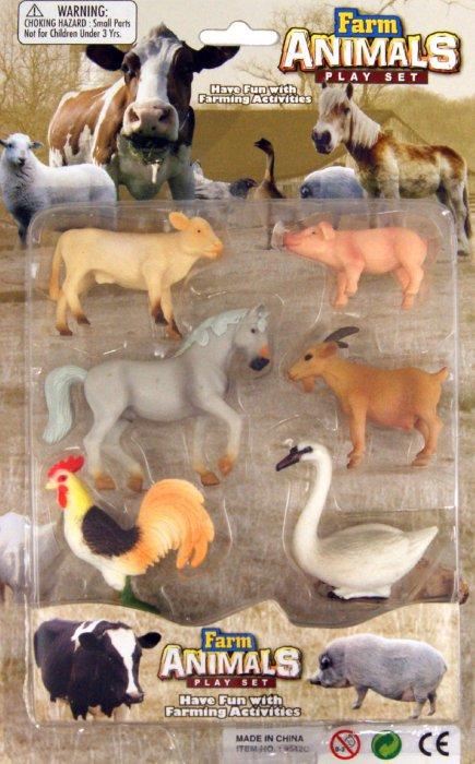 """Иллюстрация 1 из 2 для Набор """"Ферма"""" 6 штук (9542С)   Лабиринт - игрушки. Источник: Лабиринт"""