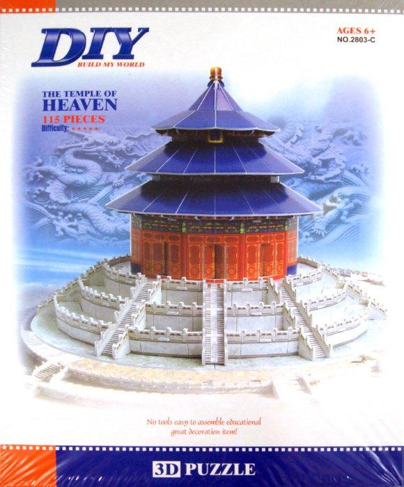 """Иллюстрация 1 из 3 для Пазл 3D """"Храм неба"""" 115 деталей (2803С)   Лабиринт - игрушки. Источник: Лабиринт"""