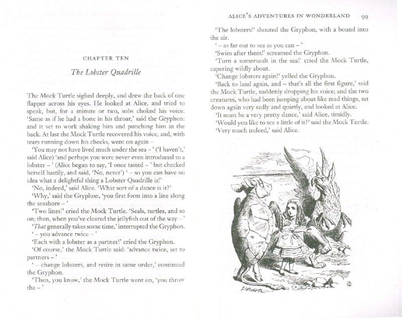 Иллюстрация 1 из 25 для Alice in Wonderland & Through the Looking-Glass - Lewis Carroll   Лабиринт - книги. Источник: Лабиринт