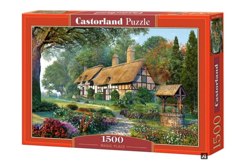 """Иллюстрация 1 из 11 для Puzzle-1500 """"Волшебный дом"""" (C-150915)   Лабиринт - игрушки. Источник: Лабиринт"""