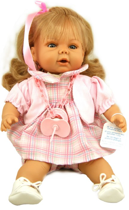 Иллюстрация 1 из 4 для Тереза в розовом платье, 38 см (в коробке) (003804) | Лабиринт - игрушки. Источник: Лабиринт