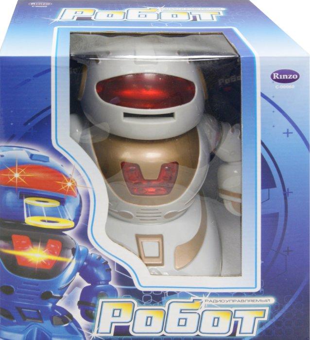 Иллюстрация 1 из 2 для Робот радиоуправляемый белый (TT334) (C-00060) | Лабиринт - игрушки. Источник: Лабиринт