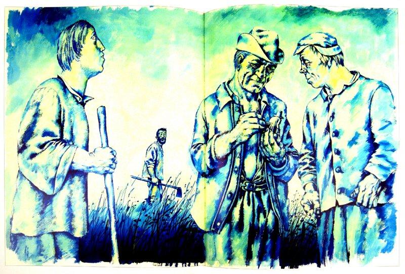 Иллюстрация 1 из 42 для Путешествия Гулливера - Джонатан Свифт | Лабиринт - книги. Источник: Лабиринт