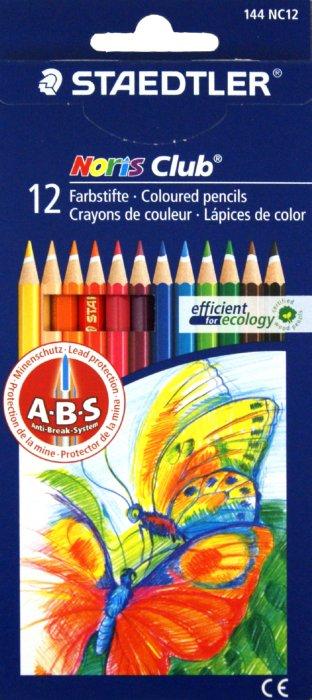 Иллюстрация 1 из 3 для Карандаши 12 цветов (144 NC12P1 Noris Club 144) | Лабиринт - канцтовы. Источник: Лабиринт