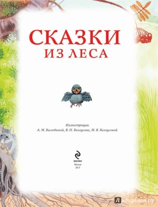 Иллюстрация 1 из 40 для Сказки из леса   Лабиринт - книги. Источник: Лабиринт