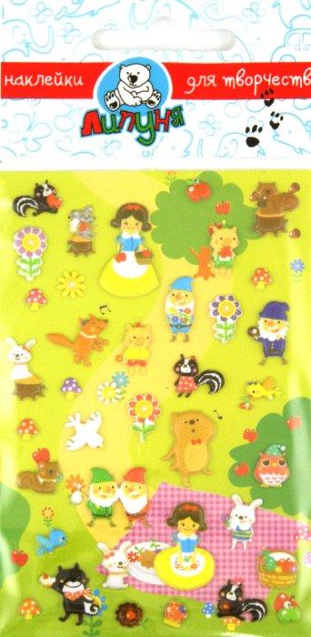 """Иллюстрация 1 из 3 для Наклейки детские """"Сказка белоснежка"""" (TMS001)   Лабиринт - игрушки. Источник: Лабиринт"""