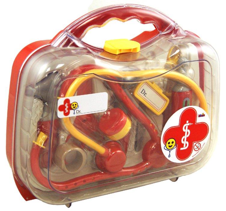 Иллюстрация 1 из 5 для Набор доктора в прозрачном кейсе, средний (4624) | Лабиринт - игрушки. Источник: Лабиринт