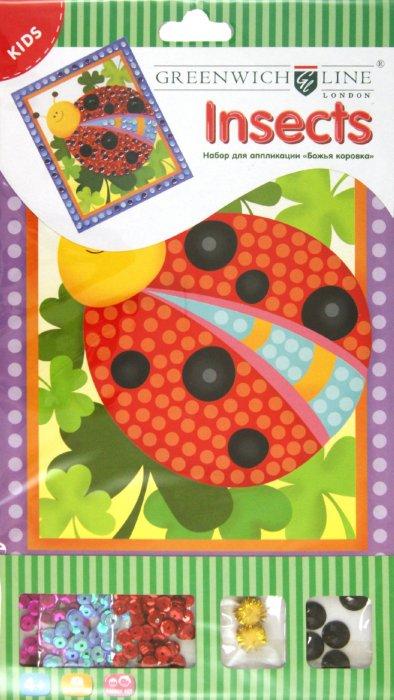 """Иллюстрация 1 из 7 для Набор для аппликации """"Божья коровка"""" (AP00520)   Лабиринт - игрушки. Источник: Лабиринт"""