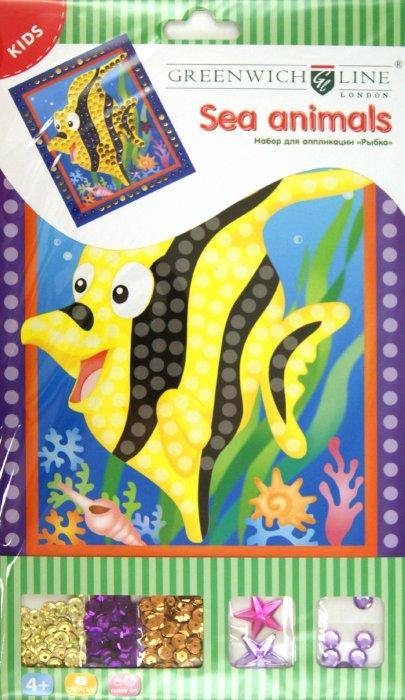 """Иллюстрация 1 из 2 для Набор для аппликации """"Рыбка"""" (AP00280)   Лабиринт - игрушки. Источник: Лабиринт"""