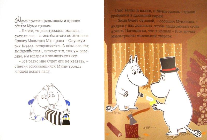 Иллюстрация 1 из 18 для Муми-тролли и первый снег | Лабиринт - книги. Источник: Лабиринт