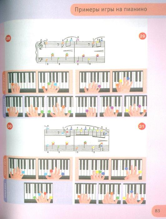 Иллюстрация 1 из 15 для Иллюстрированный пошаговый самоучитель игры на пианино | Лабиринт - книги. Источник: Лабиринт