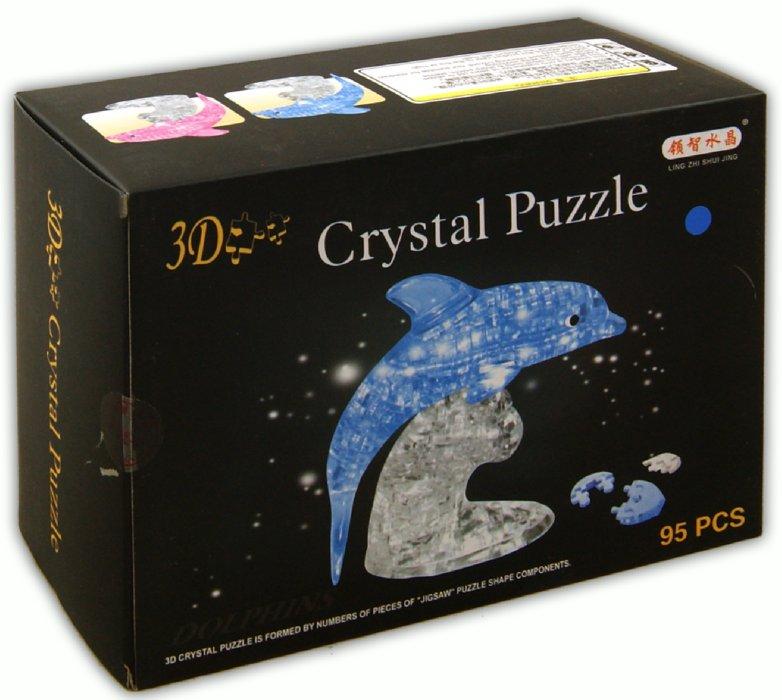 """Иллюстрация 1 из 12 для Головоломка 3D Crystal Puzzle """"Дельфин"""" XL (HJ031147)   Лабиринт - игрушки. Источник: Лабиринт"""