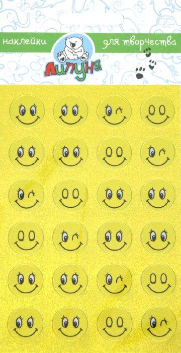 """Иллюстрация 1 из 3 для Наклейки детские """"Смайлики малые"""" (ZL004)   Лабиринт - игрушки. Источник: Лабиринт"""
