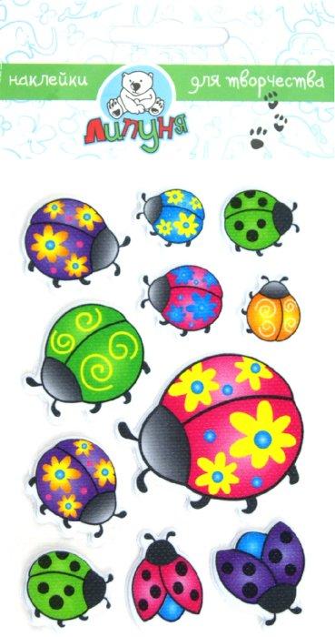 """Иллюстрация 1 из 3 для Наклейки детские """"Жучки"""" (ZF006)   Лабиринт - игрушки. Источник: Лабиринт"""