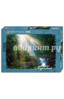 Puzzle-1000 Водопад Magic forest (29498) пазлы crystal puzzle 3d головоломка вулкан 40 деталей