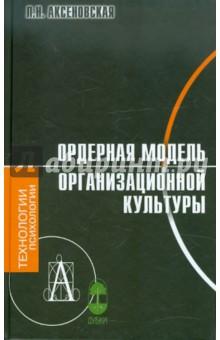Ордерная модель организационной культуры л н аксеновская ордерная модель организационной культуры