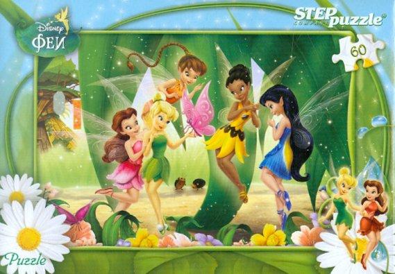 """Иллюстрация 1 из 15 для Step Puzzle-60 """"Феи"""" (81110)   Лабиринт - игрушки. Источник: Лабиринт"""