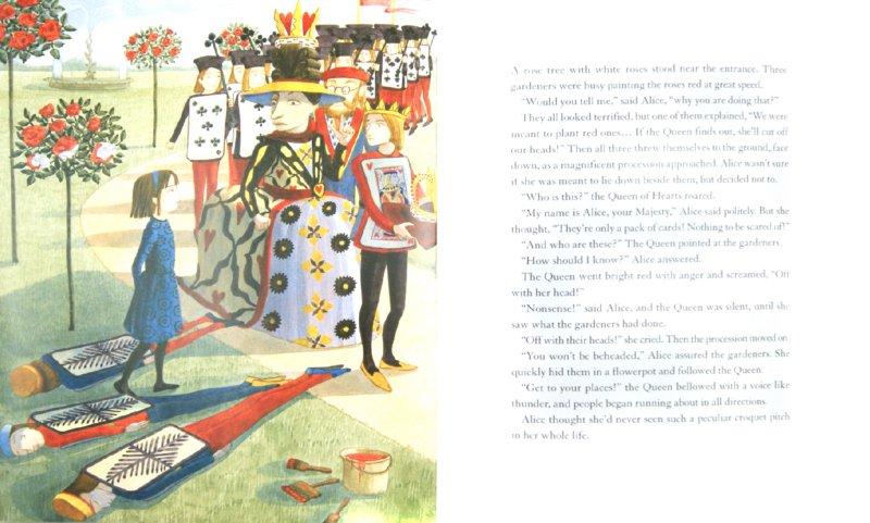 Иллюстрация 1 из 4 для Alice in Wonderland (На английском языке) - Carroll, Clark | Лабиринт - книги. Источник: Лабиринт