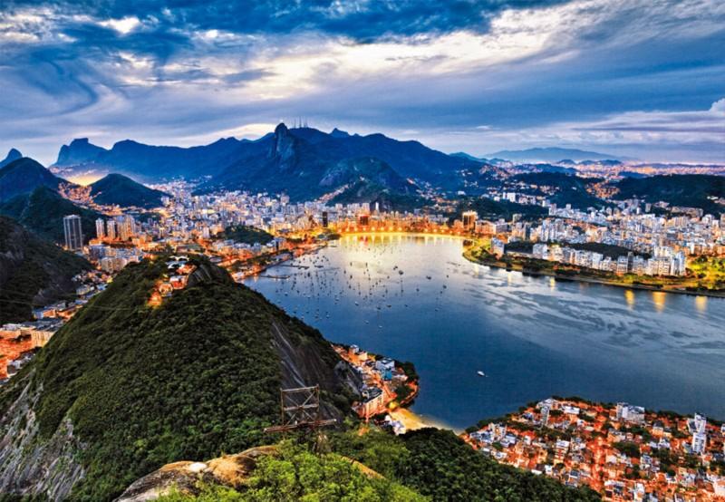 """Иллюстрация 1 из 9 для Пазл-2000 """"Рио де Жанейро, Бразилия"""" (15178)   Лабиринт - игрушки. Источник: Лабиринт"""