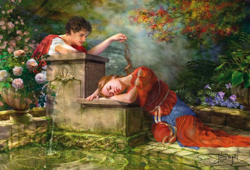 Иллюстрация 1 из 4 для Пазл-8000 15168 Пока она спала | Лабиринт - игрушки. Источник: Лабиринт