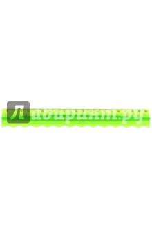 """Линейка """"Colorful"""" 20см: удобный держатель, фигурная (160074)"""