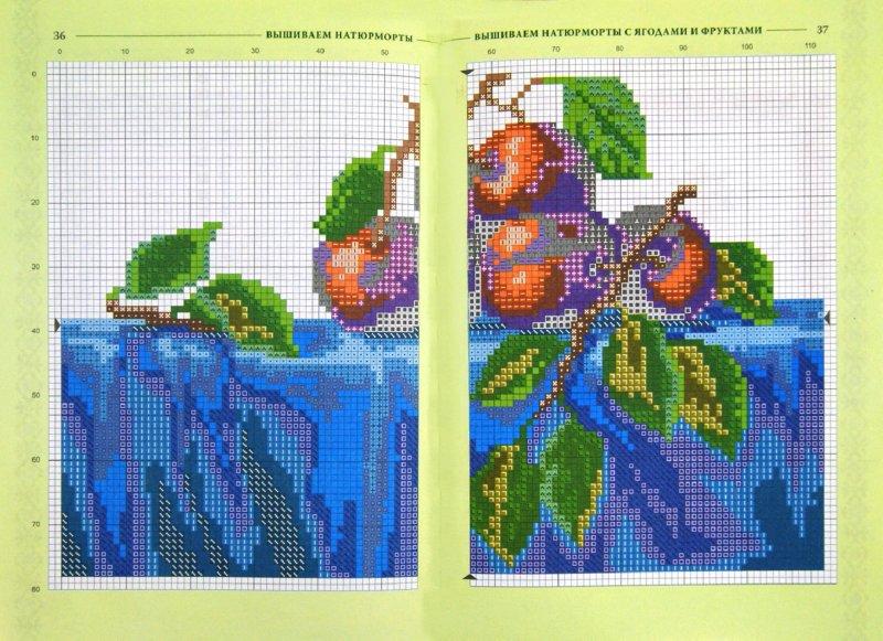 Иллюстрация 1 из 22 для Вышиваем натюрморты с ягодами и фруктами - Наниашвили, Соцкова | Лабиринт - книги. Источник: Лабиринт