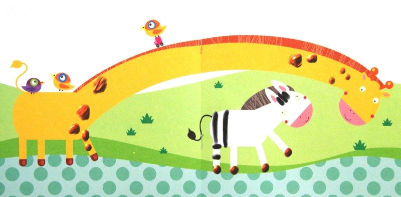 Иллюстрация 1 из 3 для Альбом пальчикового рисования. Зоопарк   Лабиринт - книги. Источник: Лабиринт