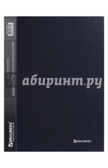 """Папка на 100 вкладышей """"Диагональ"""" черная, 0,9 мм (221332) от Лабиринт"""