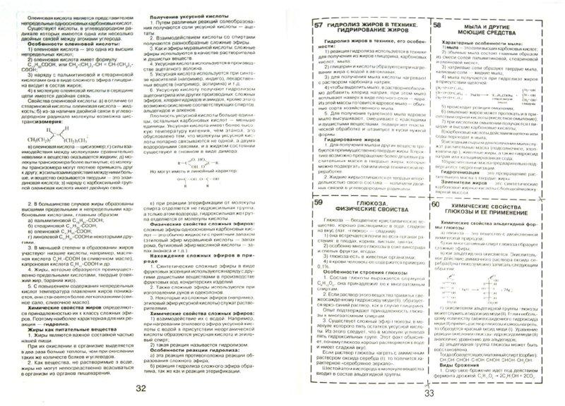 Иллюстрация 1 из 3 для Шпаргалка по органической химии | Лабиринт - книги. Источник: Лабиринт