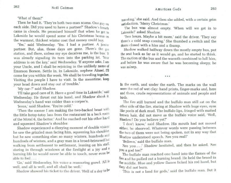 Иллюстрация 1 из 7 для American Gods - Neil Gaiman | Лабиринт - книги. Источник: Лабиринт