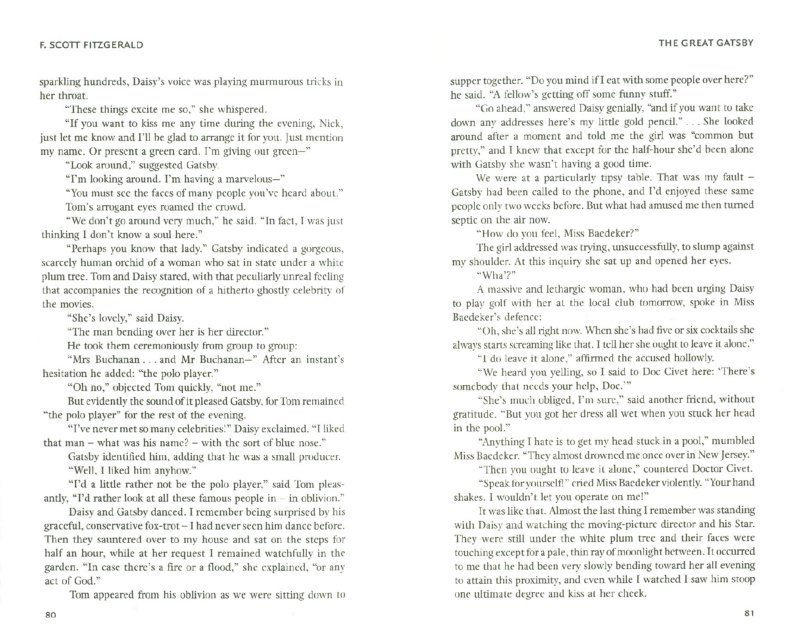 Иллюстрация 1 из 9 для The Great Gatsby - Francis Fitzgerald | Лабиринт - книги. Источник: Лабиринт