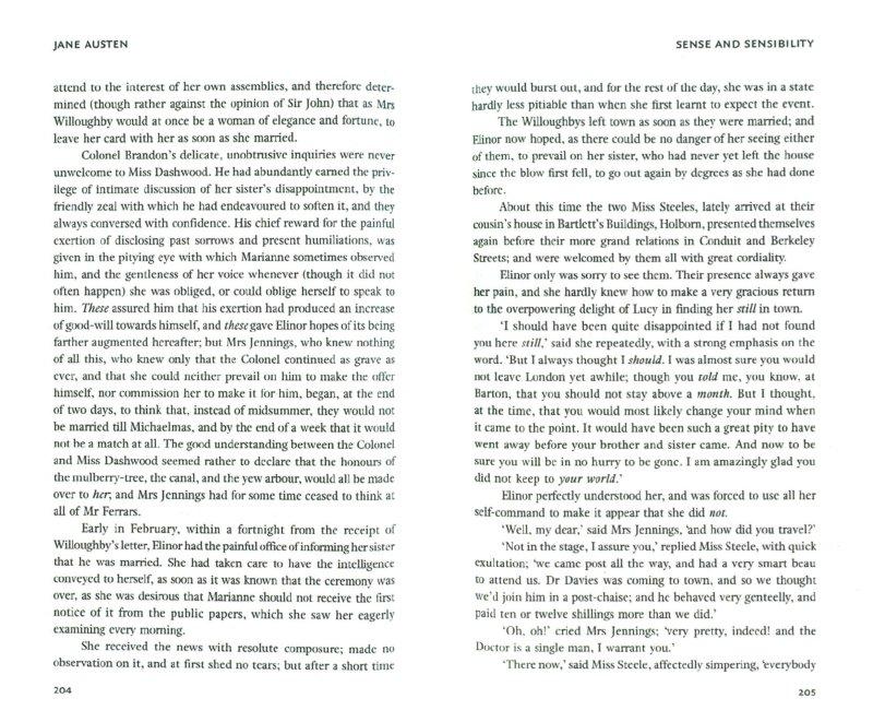 Иллюстрация 1 из 4 для Sense and Sensibility - Jane Austen | Лабиринт - книги. Источник: Лабиринт