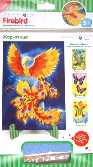 """Иллюстрация 1 из 4 для Набор для аппликации """"Жар-птица"""" (AP00420)   Лабиринт - игрушки. Источник: Лабиринт"""