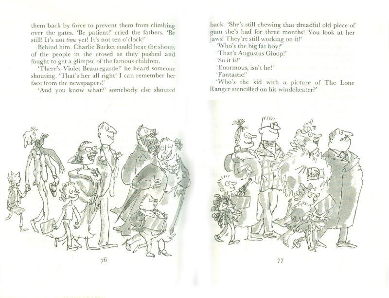 Иллюстрация 1 из 11 для Charlie and the Chocolate Factory - Roald Dahl | Лабиринт - книги. Источник: Лабиринт