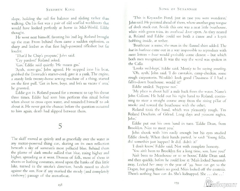 Иллюстрация 1 из 8 для The Dark Tower VI: Song of Susannah - Stephen King | Лабиринт - книги. Источник: Лабиринт